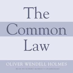 The Common Law by Oliver Wendell Holmes, Jr.
