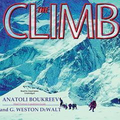 The Climb by Anatoli Boukreev, G. Weston DeWalt