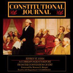 Constitutional Journal by Jeffrey St. John