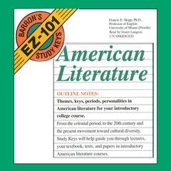 American Literature by Francis E. Skipp, PhD