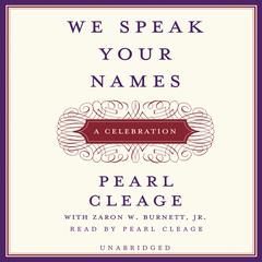 We Speak Your Names by Pearl Cleage