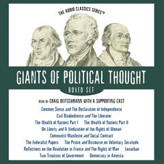 The Giants of Political Thought Series – Boxed Set by various authors