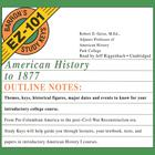 American History to 1877 by Robert D. Geise, MEd