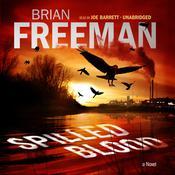 Spilled Blood by Brian Freeman