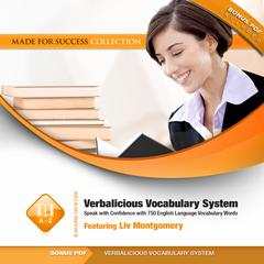 Verbalicious Vocabulary System by Liv Montgomery