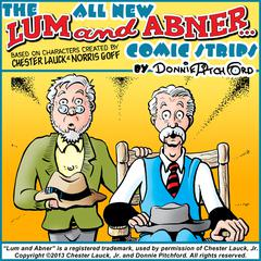 "The All New ""Lum & Abner"" Comic Strips by Donnie Pitchford"