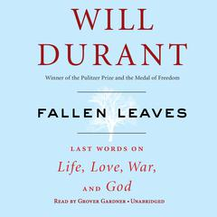 Fallen Leaves by Will Durant