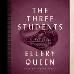 The Three Students by Ellery Queen