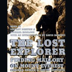 The Lost Explorer by Conrad Anker, David Roberts