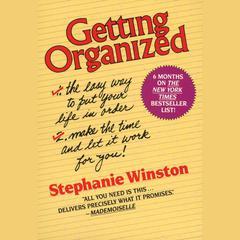 Getting Organized by Stephanie Winston