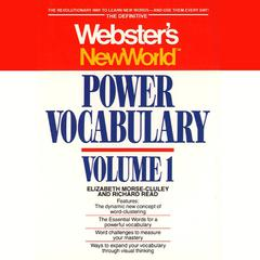 Webster's New World Power Vocabulary by Elizabeth Morse-Cluley, Richard Read