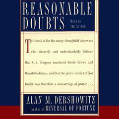 Reasonable Doubts by Alan M. Dershowitz