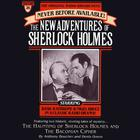 The Haunting of Sherlock Holmes and Baconian Cipher by Anthony Boucher, Denis Green