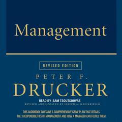 Management by Peter F. Drucker