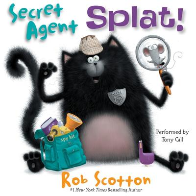Secret Agent Splat! by Rob Scotton