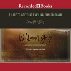 I Hate to See That Evening Sun Go Down by William Gay