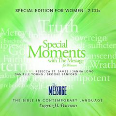 Special Moments with The Message for Women by Eugene H. Peterson
