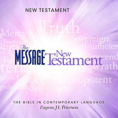 The Message Bible by Eugene H. Peterson