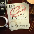 The One Year [Daily Devotions] for Leaders by Jim Seybert