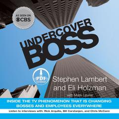 Undercover Boss by Stephen Lambert, Eli Holzman