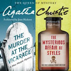 The Murder at the Vicarage & The Mysterious Affair at Styles by Agatha Christie
