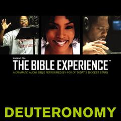 Inspired By...The Bible Experience: Deuteronomy by Zondervan