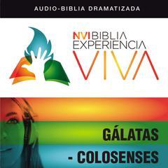 NVI Experiencia Viva: Galátas-Colosenses by Zondervan