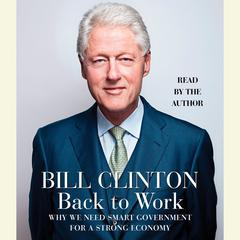 Back to Work by Bill Clinton