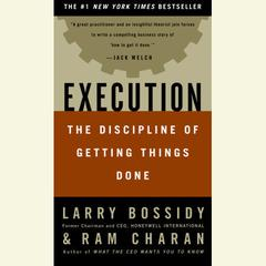 Execution by Larry Bossidy, Ram Charan