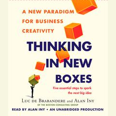 Thinking in New Boxes by Luc de Brabandere, Alan Iny