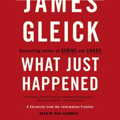 What Just Happened by James Gleick