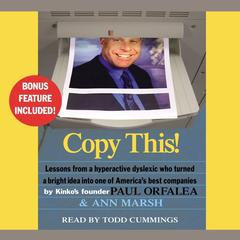 Copy This! by Paul Orfalea, Ann Marsh