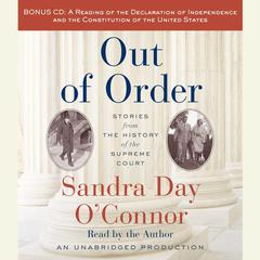 Out of Order by Sandra Day O'Connor, Sandra Day O'Connor
