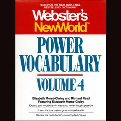 Webster's New World Power Vocabulary, Vol. 4 by Elizabeth Morse-Cluley, Richard Reed
