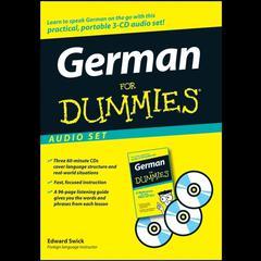 German for Dummies Audio Set by Edward Swick