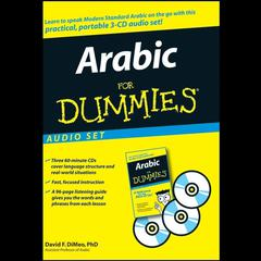 Arabic for Dummies Audio Set by David F. DiMeo