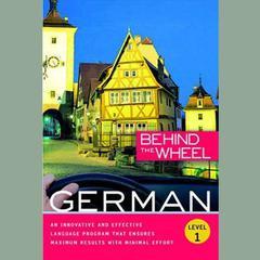 Behind the Wheel - German 1 by Behind the Wheel