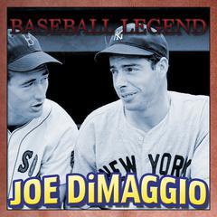 Baseball Legend Joe DiMaggio by Geoffrey Giuliano