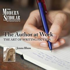 The Author at Work by Jenna Blum