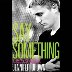 Say Something by Jennifer Brown