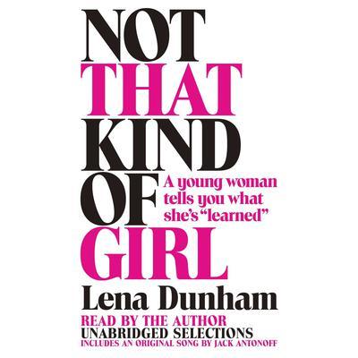 Lena Dunham audiobook