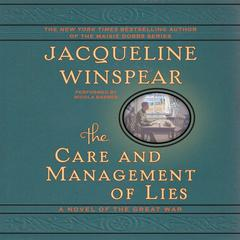 The Care and Management of Lies by Jacqueline Winspear