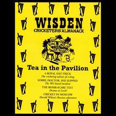 Wisden Cricketers' Almanack: Tea in the Pavilion by Sue Rodwell