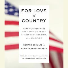 For Love of Country by Howard Schultz, Rajiv Chandrasekaran