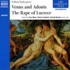 Venus & Adonis, The Rape of Lucrece by William Shakespeare