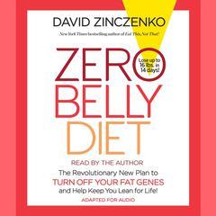 Zero Belly Diet by David Zinczenko