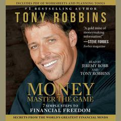 MONEY Master the Game by Tony Robbins, Anthony Robbins