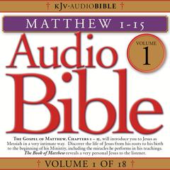 Audio Bible, Vol. 1 by