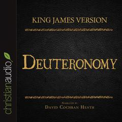 The Holy Bible in Audio, King James Version: Deuteronomy by Zondervan