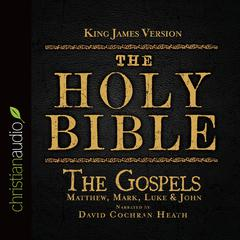 The Holy Bible in Audio, King James Version: The Gospels by Zondervan